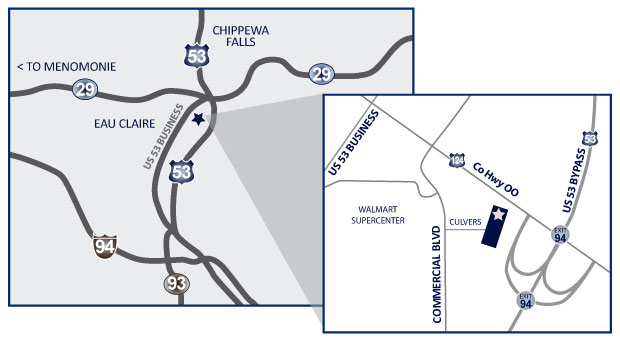 Independent Surgery Center | Where To Find Us | Chippewa Valley, WI